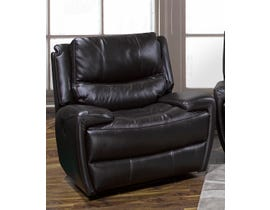 K-Living Myla High Grade Leather Power Recliner Chair  in Chocolate Brown