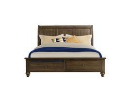 Chatham Collection King Storage Bed in Ash Gray CH600K