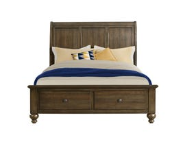 Chatham Collection Queen Storage Bed in Ash Gray CH600Q