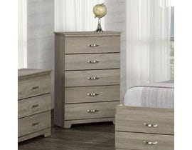 Modern Furniture Engineered Wood Chest in Continental Coast 5600