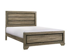 Flair Chester Series 3pc King Bed in Cream Oak