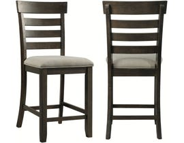 High Society Colorado Series Dining Chair in Dark Grey DCO100