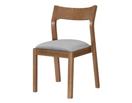 Donald Choi Cooper light walnut chair 2/pack