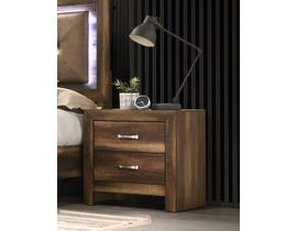 Cosmos Yasmine Series Nightstand in Brown