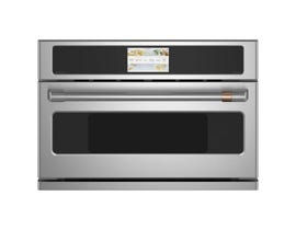 GE Cafe 30 inch 1.7 cu. ft. Smart Single Wall Oven in Stainless Steel CSB923P2NS1