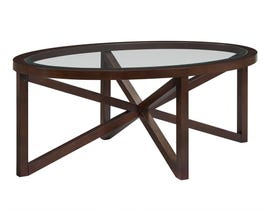 High Society Sandie Collection Table Set in Espresso