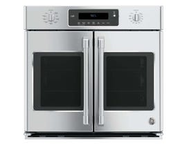 """GE Café 30"""" Professional French-Door Electronic Convection Single Wall Oven CT9070SHSS"""
