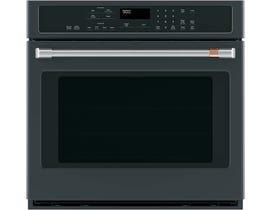 "Café™ 30"" Built-In Single Convection Wall Oven in Matt Black CTS90DP3MD1"