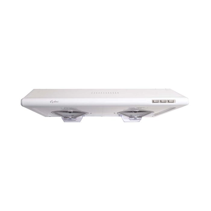 Cyclone 30 inch Vented 680 CFM Under-Cabinet Hood white CY1011-W
