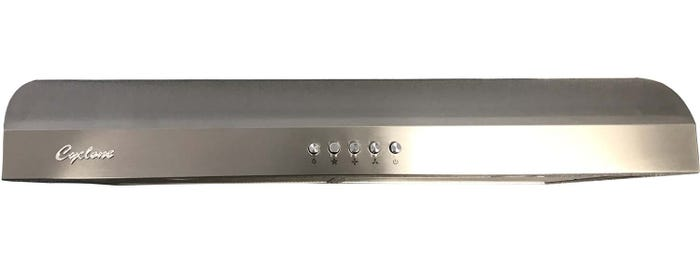 Cyclone 30 inch Vented 300 CFM Under-Cabinet Hood stainless Steel  CY917R30SS