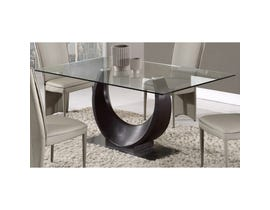 Global Furniture dining table wenge D2185DT