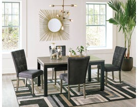 Signature Design by Ashley Dontally 5pc Table Dining Set in Two-Tone Brown D294-25-01(4)