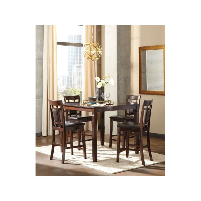 Signature Design by Ashley DRM Counter Table Set (5-CN) D384-223