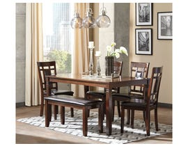 Signature Design by Ashley Dining Room 6-piece Table Set D384-325