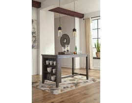 Signature Design by Ashley Caitbrook Series Dining Room Counter Table in Grey D388-13