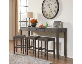 Signature Design by Ashley Caitbrook 4pc Counter Table Set in Grey D388-223