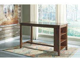 Signature Design by Ashley Chaleny Series Counter Table in Warm Brown D392-42