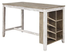 Signature Design by Ashley Skempton Series Counter Table with Storage D395