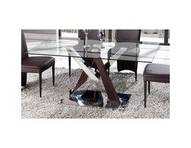 Global Furniture dining table glass D4100DT