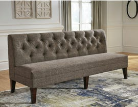 Signature Design by Ashley Tripton Extra Large Upholstered Bench in Graphite D530-09