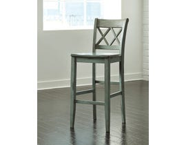 Signature Design by Ashley Mestler Tall Bar Stool (Set of 2) in Green/Blue D540-130