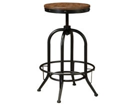 Signature Design by Ashley Pinnadel Tall Swivel Stool (Set of 2) in Light Brown D542-230