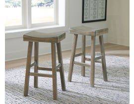 Signature Design by Ashley Glosco Tall Stool (Set of 2) in Natural D548-630