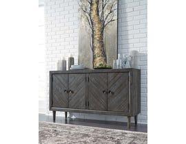 Signature Design by Ashley Besteneer Series Dining Room Server in Dark Gray D568