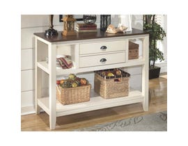 Signature Design by Ashley Whitesburg Series Dining Room Server in Brown/Cottage White D583-59