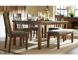 Ashley Flaybern Collection 6Pc Dining Set in Light Brown D595