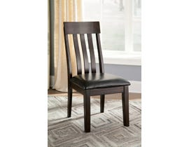 Signature Design by Ashley Haddigan Upholstered Side Chair (Set of 2) in Dark Brown D596-01