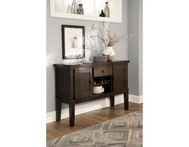 Signature Design by Ashley Haddigan Series Dining Room Server in Dark Brown D596-60