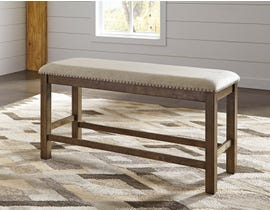 Signature Design by Ashley Moriville Series Upholstered Dining Bench in Beige D631-09