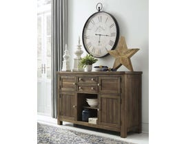 Signature Design by Ashley Moriville Series Dining Room Server in Grayish Brown D31-60
