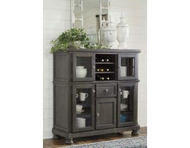 Signature Design by Ashley Audberry Series Server in Dark Grey D637