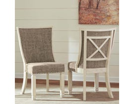 Signature Design by Ashley Bolanburg series Dining UPH two-tone Side Chair (Set of 2) D647-02 (2/CN)
