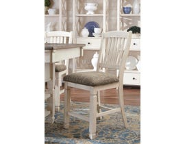 Signature Design by Ashley Bolanburg Upholstered Bar Stool (Set of 2) in Two-Tone Brown D647-124
