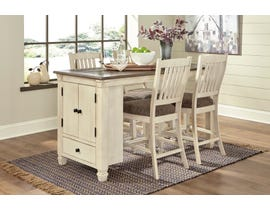 Signature Design by Ashley Bolanburg 5pc Dining Counter Set in Two-Tone Brown D647-42-124(4)