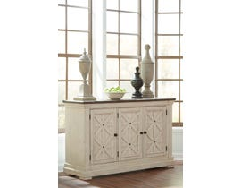 Ashley Bolanburg Series Two Tone Dining Room Server D647 60 Sale