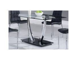Global Furniture dining table black D716DT
