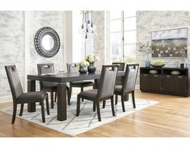 Signature Design by Ashley Hyndell 7pc Extending Dining Set in Dark Brown D731