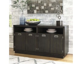 Signature Design by Ashley Hyndell Series Dining Room Server in Dark Brown D731-60
