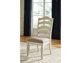 Signature Design by Ashley Realyn Upholstered Side Chair (Set of 2) in Chipped White D743-01
