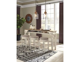 Signature Design by Ashley Realyn 4pc Counter Dining Set in Chipped White D743-52-024(3)
