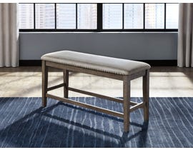 Signature Design by Ashley Johurst Upholstered Bench in Beige/Brown D762-09