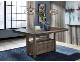 Signature Design by Ashley Johurst Series Dining Counter Table in Greyish Brown D762-32