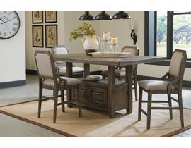 Signature Design by Ashley Wyndahl 5pc Counter Dining Set in Rustic Brown D813-32-124(4)
