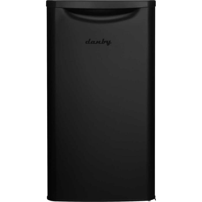 Danby 3.3 cu. ft. Compact Refrigerator black DAR033A6BDB