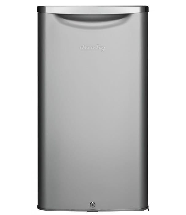 Danby 3.3 cu. ft. Compact Refrigerator silver DAR033A6DDB