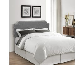 Sinca Darcy Headboard in Smoke Grey B7003